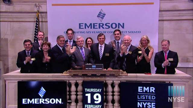 emr-stock-opening