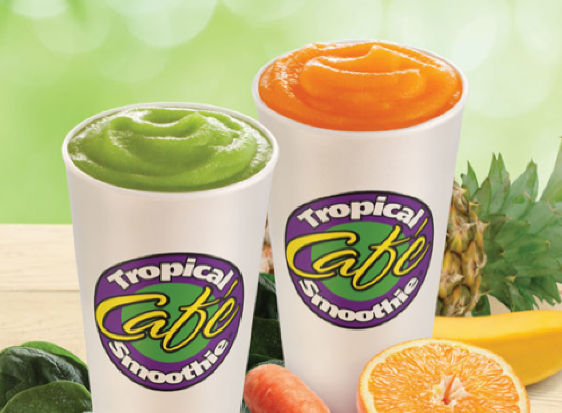 The Best Smoothie To Get From Tropical Smoothie Cafe