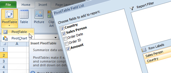 excel-pivot-tables-features