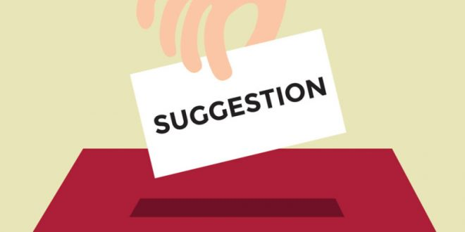 suggestion improvement A suggestion box is the death knell for a culture of continuous improvement use continuous improvement software to spread continuous improvement.